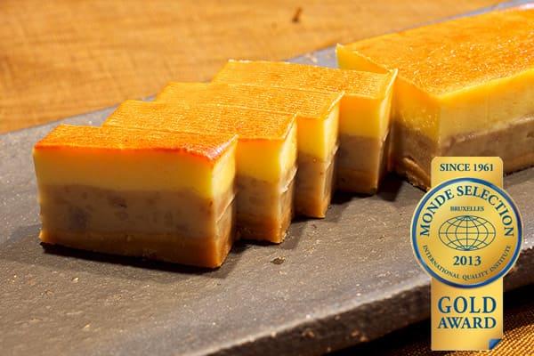 《モンドセレクション2012金賞受賞》創作琉球菓子 田芋チーズケーキ
